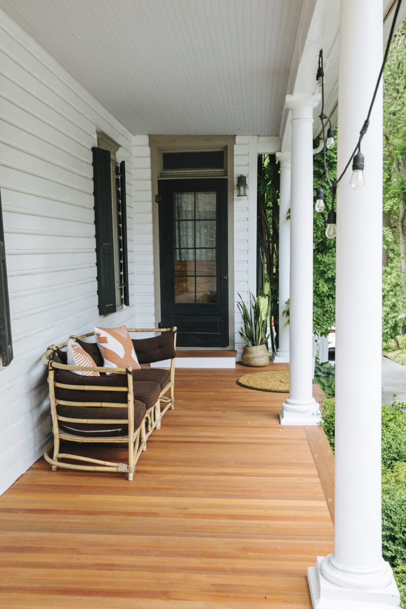 Mahogany Porch Board