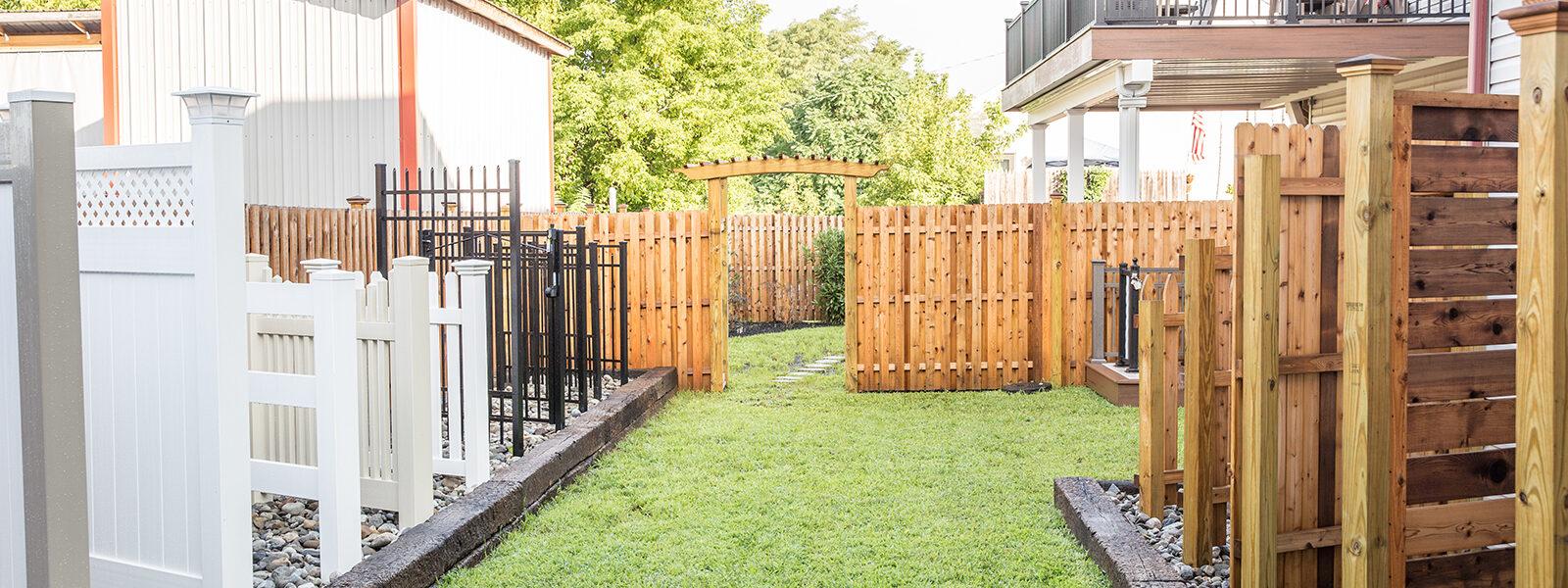 integrous showroom fences