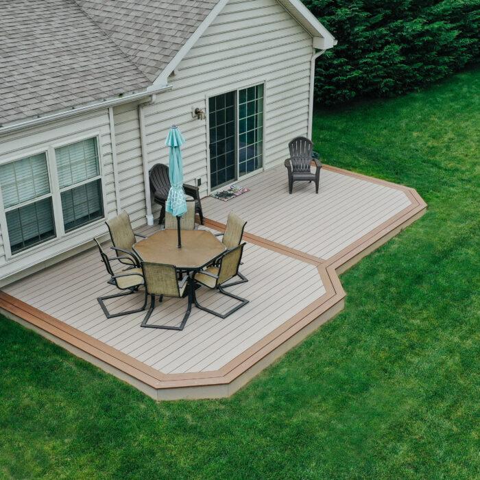 Composite Ground Level deck