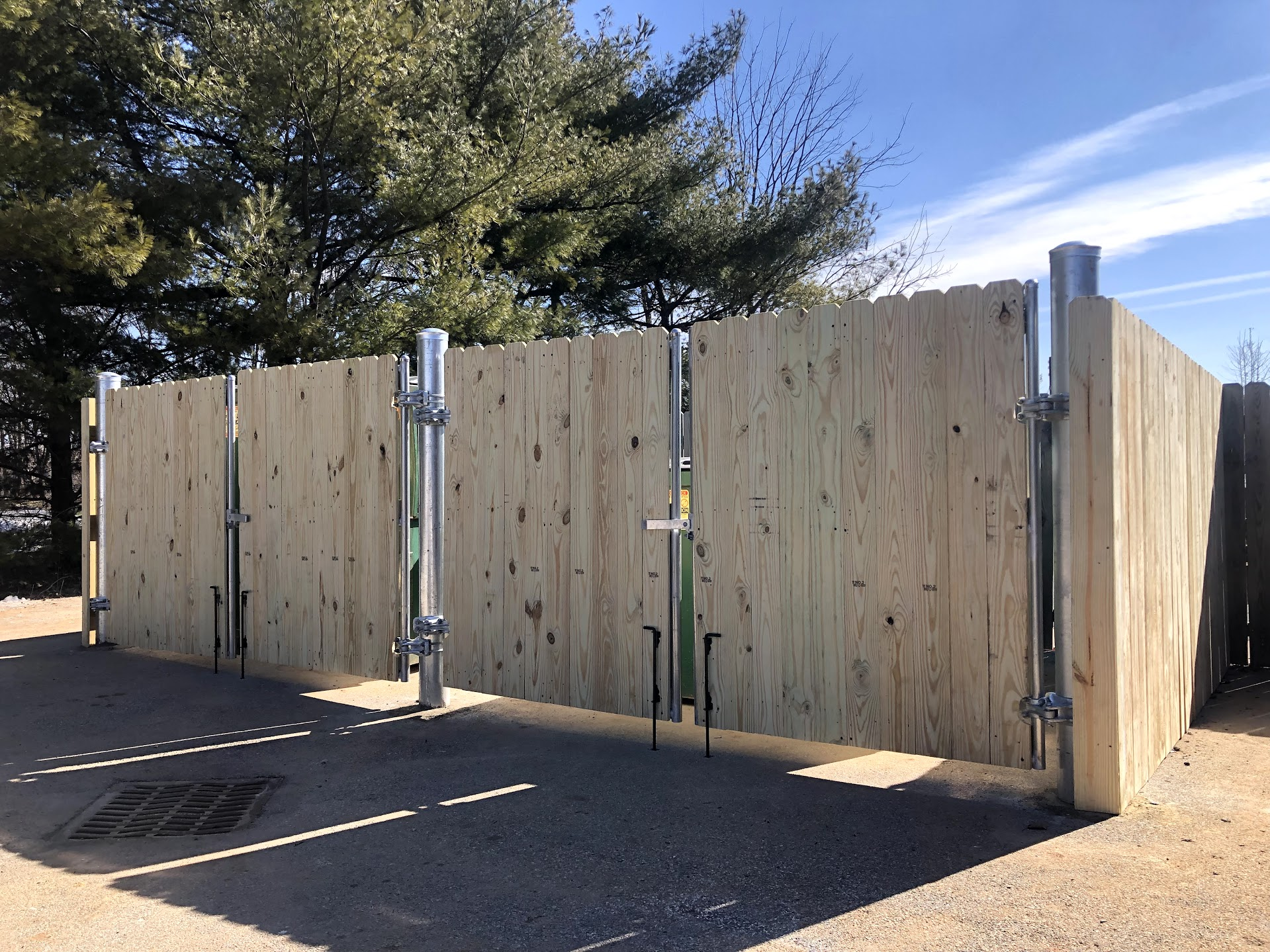 commercial trash enclosure