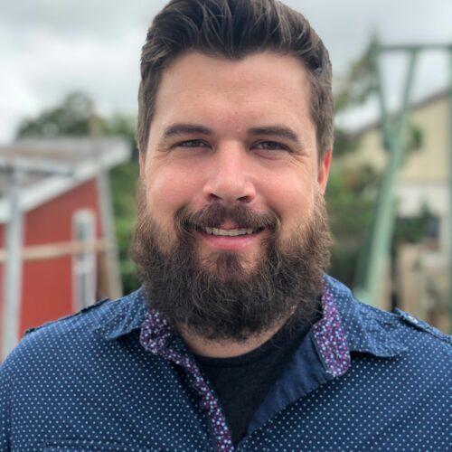 Headshot of team member Gerald Zimmerman