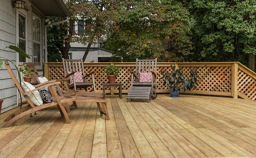 Wood Decks Integrous Fences And Decks